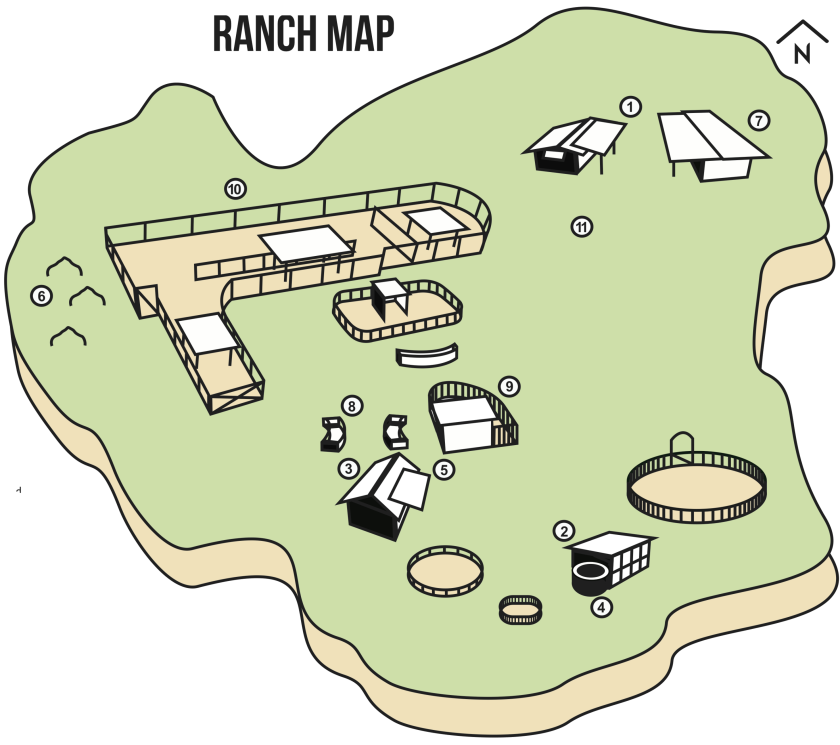 Ranch Map